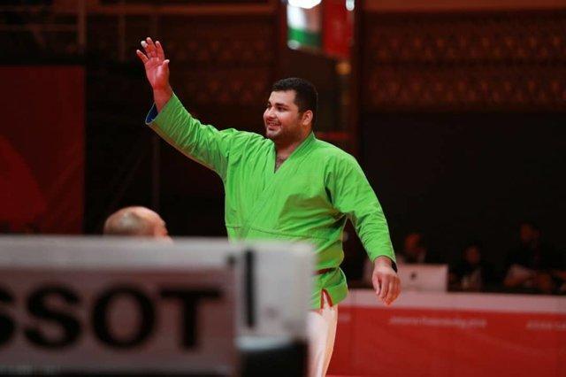 دو مدال کوراش کاران ایران در بازیهای آسیایی، پهلوانی نقره گرفت