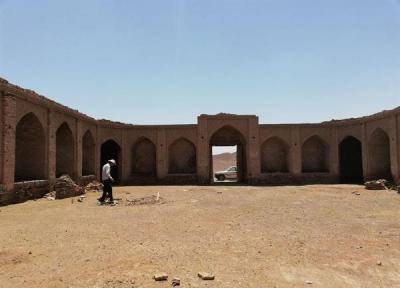 بنای تاریخی رباط خوشاب فردوس به اقامتگاه بوم گردی تبدیل می گردد