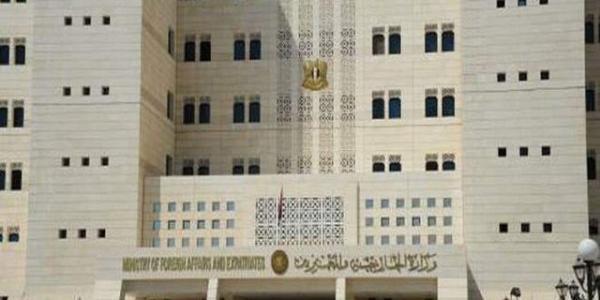 دمشق: اظهارات وزیر خارجه آمریکا نشان دهنده دورویی بی سابقه این کشور است